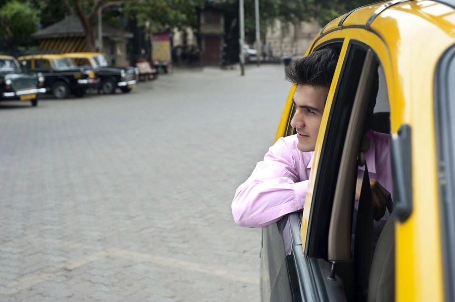 Tax cab passenger. Lyft Accident Attorney