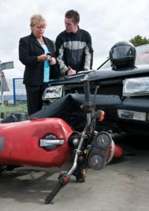 Accidente de motocicleta abogado plantación FL