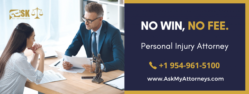 personal injury attorney broward county - no - win-no-fee