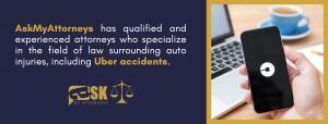 uber car accident attorney